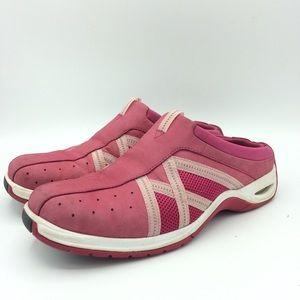 Cole Haan Nike Air  Pink Slip On Athletic Mules